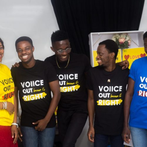 The VOIICE Community engages in works of activism, outreaches, employing the arts to creating awareness on GBV, mental health and other marginalised issues.